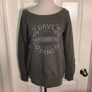 NWOT Dave Matthews Band Women's Wreath Sweatshirt